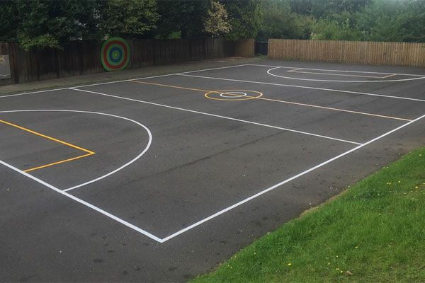 Playground and Sports Court Markings